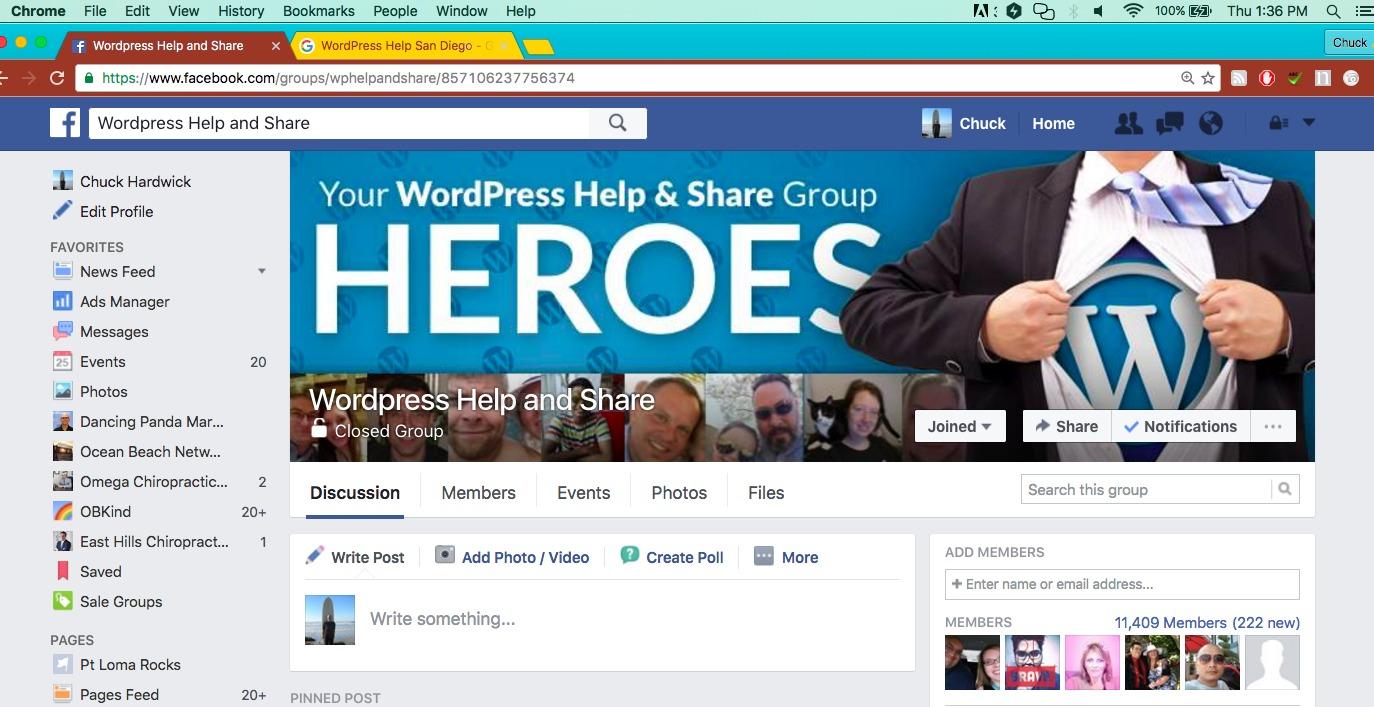 WordPress Help San Diego