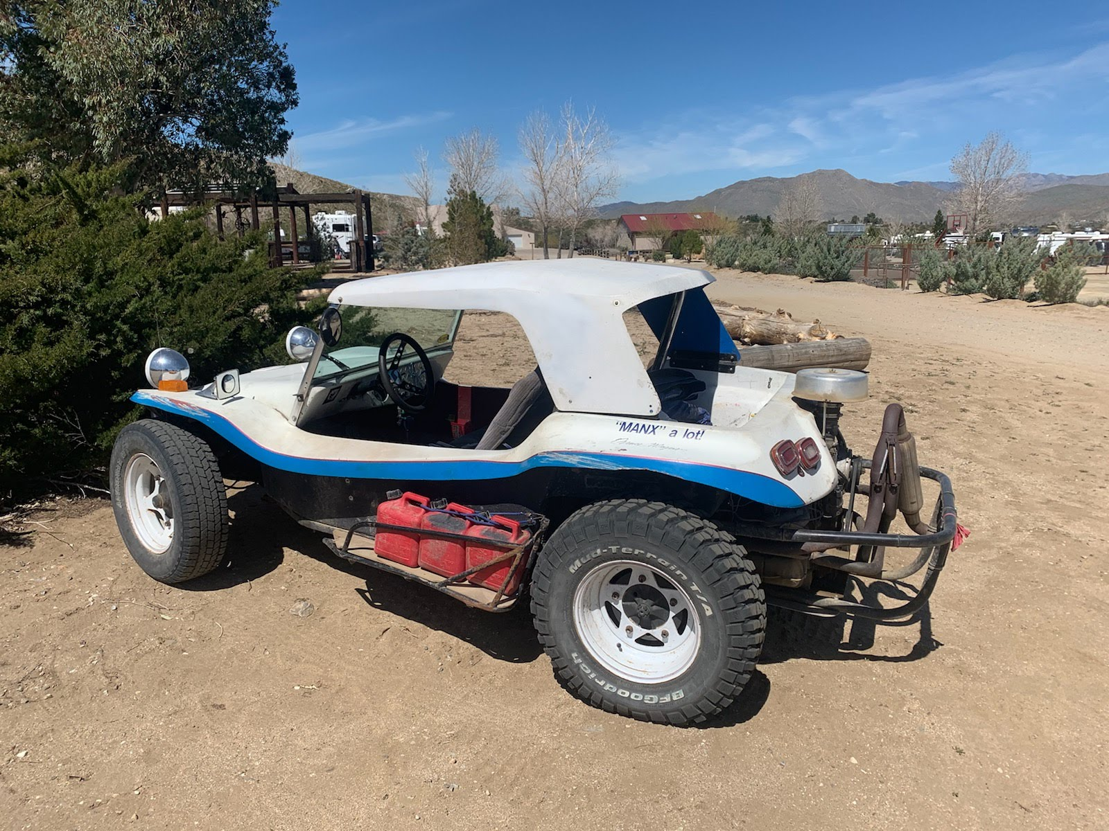 Beat Up Dune Buggy in Southern California